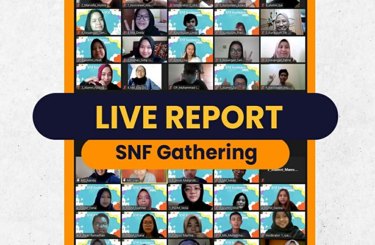 [LIVE REPORT: SNF GATHERING 2021]