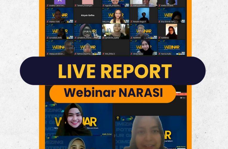 [LIVE REPORT: NARASI SNF FEB UI 2021]